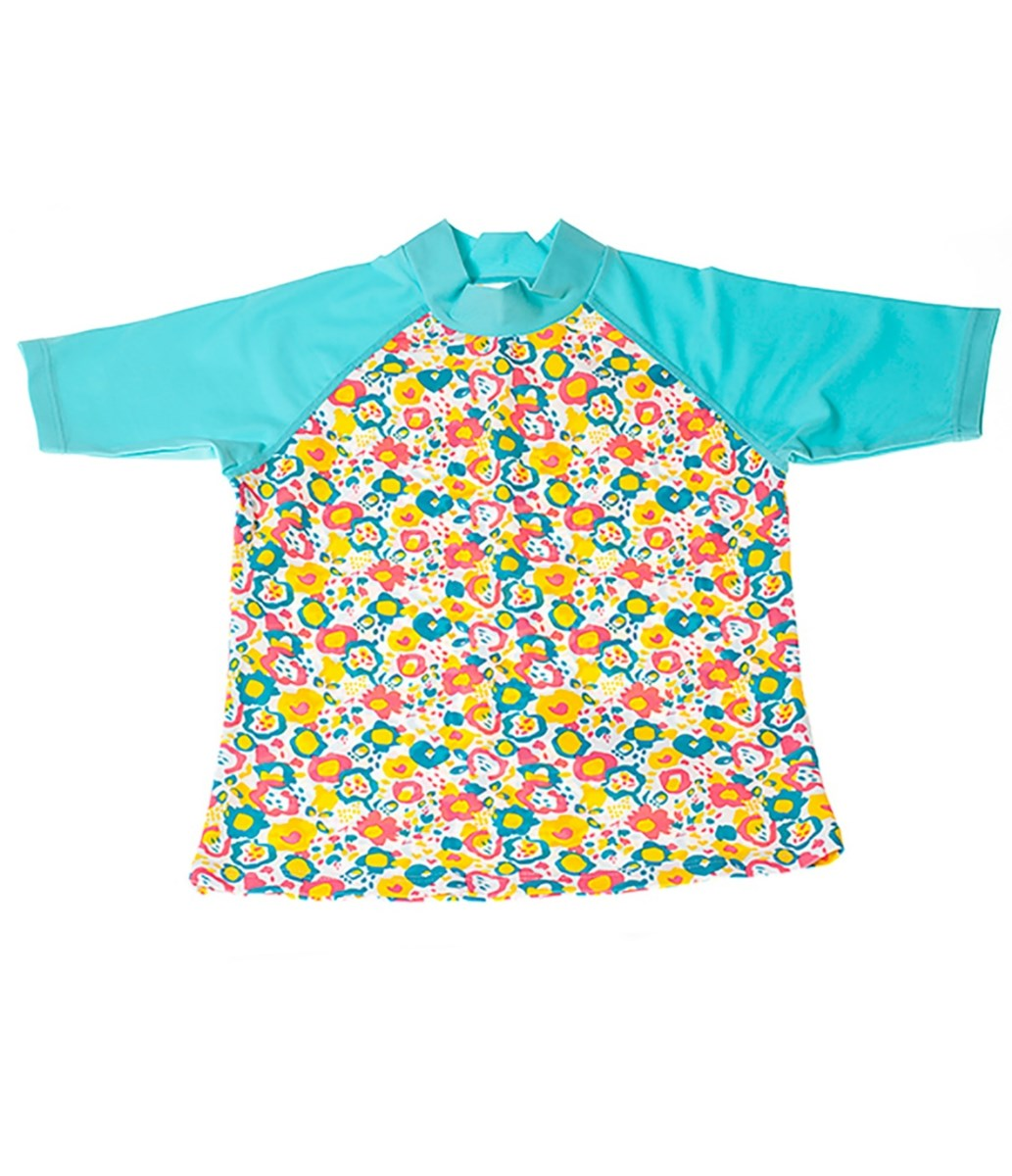 Rockley Cove UPF50+ Abstract Floral Rash Vest