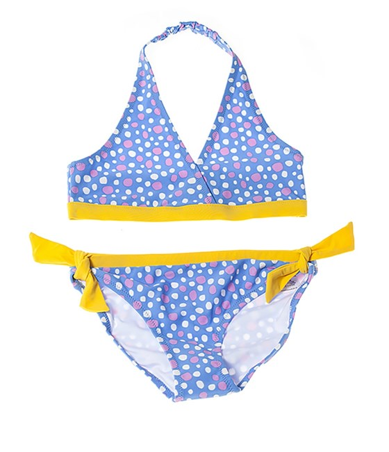 Rockley Cove UPF50+ Modern Dot Tie Bikini