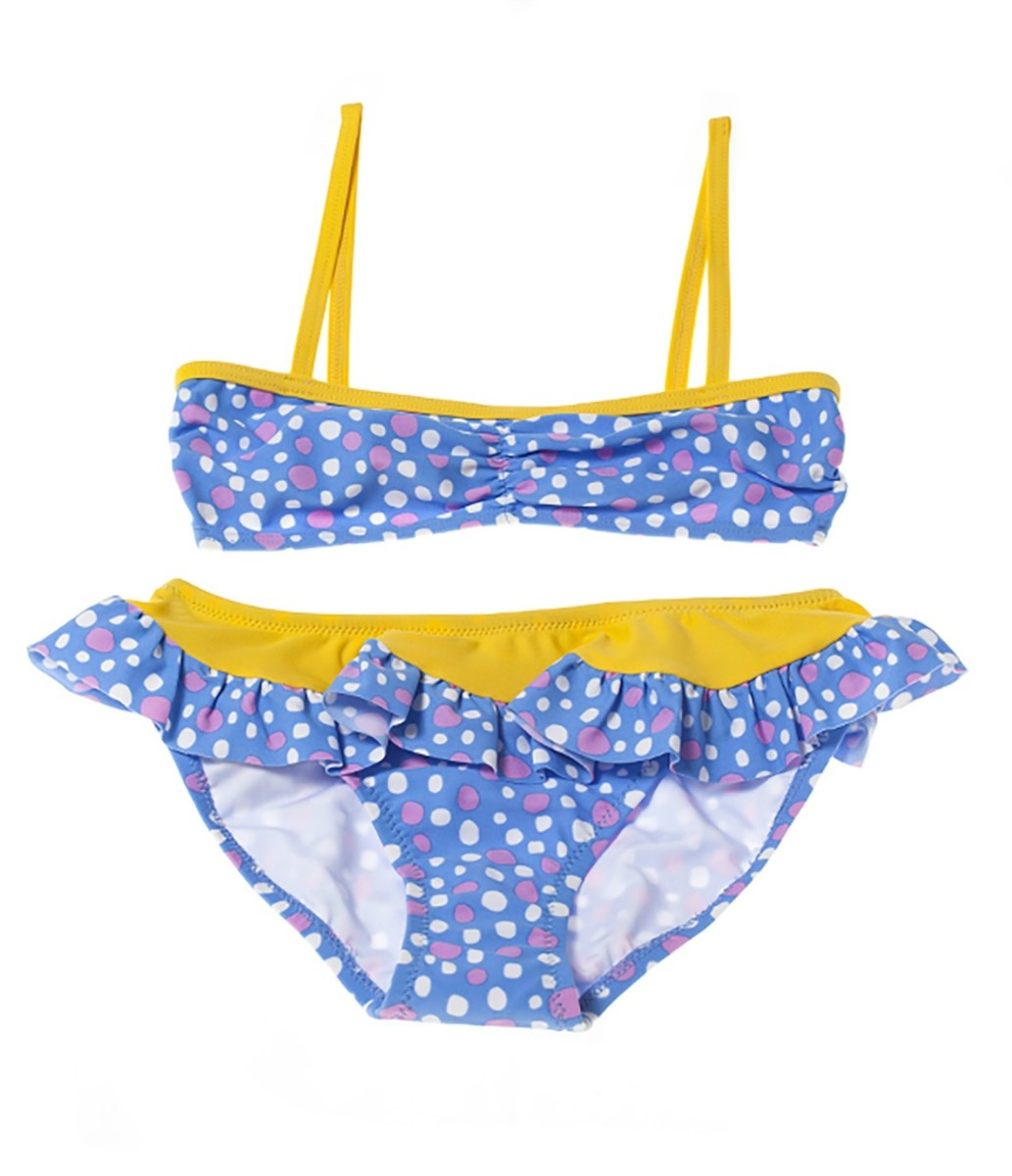 Rockley Cove UPF50+ Modern Dot Skirt Bikini