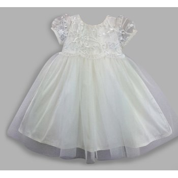 Lily Silk Christening Dress