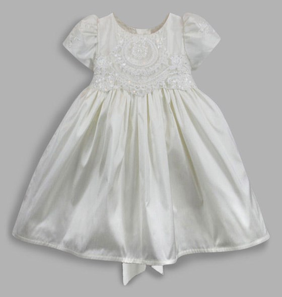Imogen Silk Christening Dress