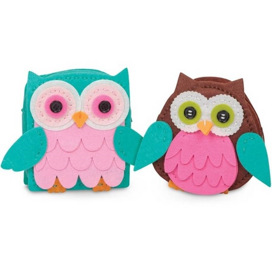 Create Your Own Owl Purse Kit