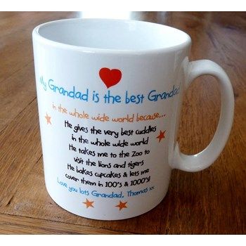 My Grandad Is Best Grandad In World Mug