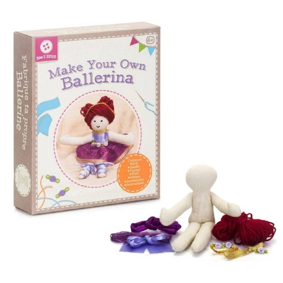 Make Your Own Ballerina Craft Kit