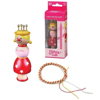 Wooden Princess French Knitting Doll