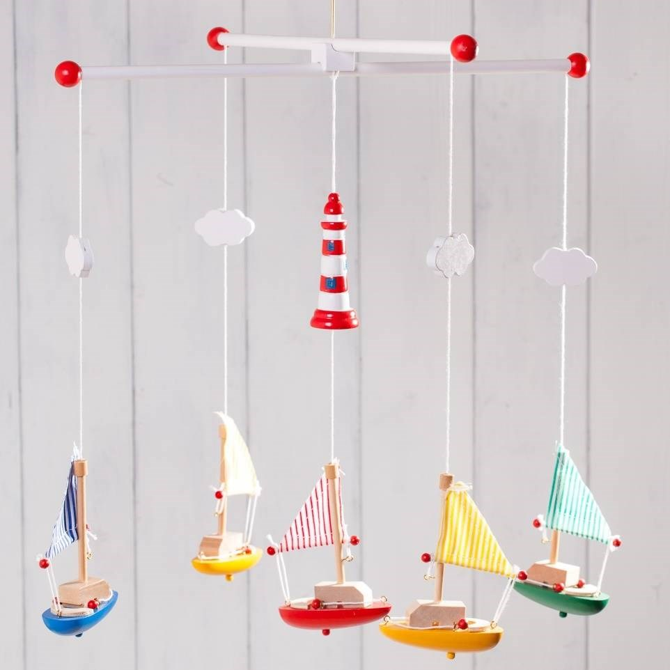 Children's Wooden Mobile