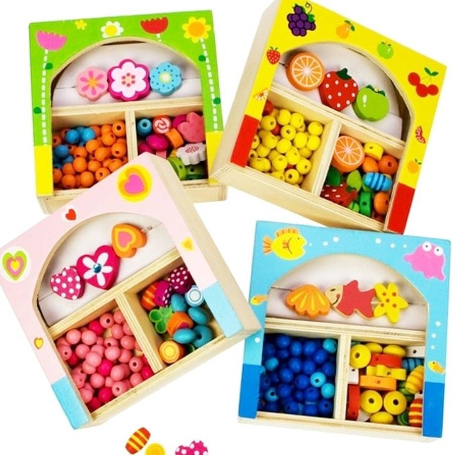 Wooden Jewellery Craft Kits For Kids