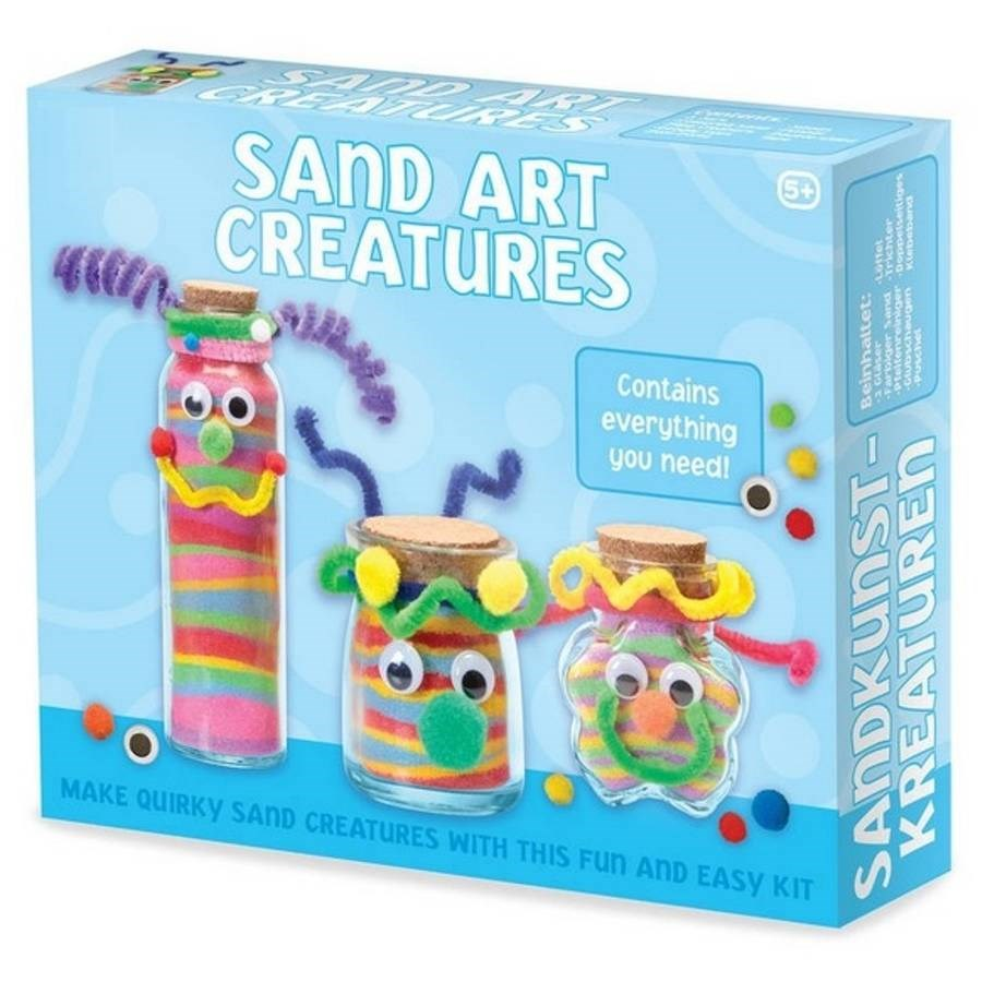 Sand Art Creatures Craft Kit