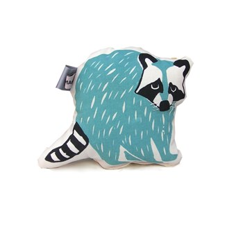 Baby Rattle Stuffed Animal Raccoon