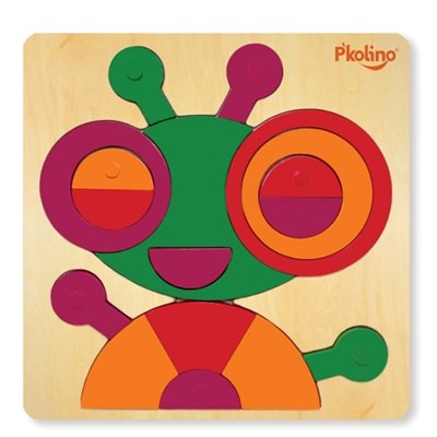 P'kolino Multi-Solution Shape Puzzle - Bug