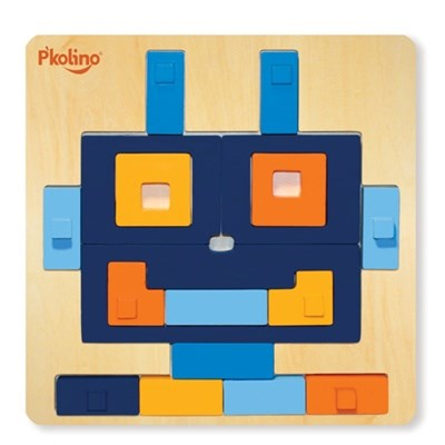 P'kolino Multi-Solution Shape Puzzle - Robot