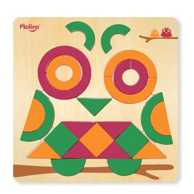 P'kolino Multi-Solution Shape Puzzle - Owl
