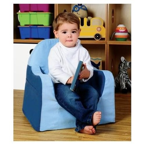 P'kolino  Little Reader Toddler Chair - Blue