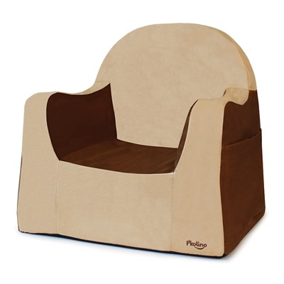 P'kolino Little Reader Toddler Chair - Brown