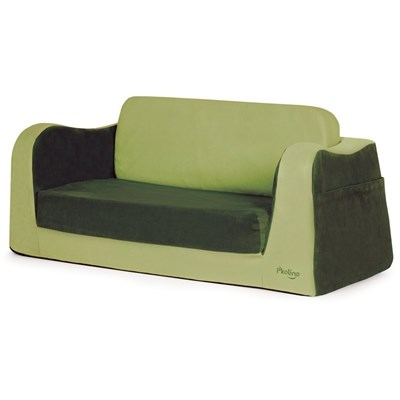P'kolino Little Reader Toddler Sofa Sleeper - Green