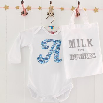 Cars Personalised Baby Boy Bodysuit And Gift Bag