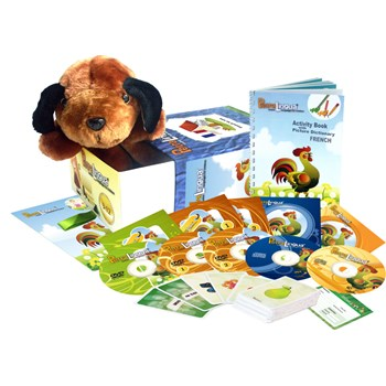 French for Kids - PetraLingua French Language Course for Children: CDs, DVDs, Books
