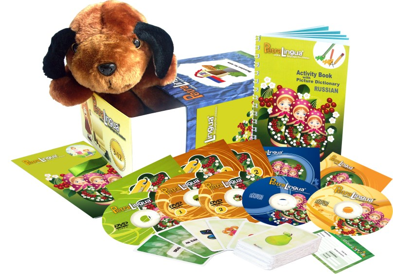 Russian for Kids - PetraLingua Russian Language Course for Children:CDs, DVDs, Books
