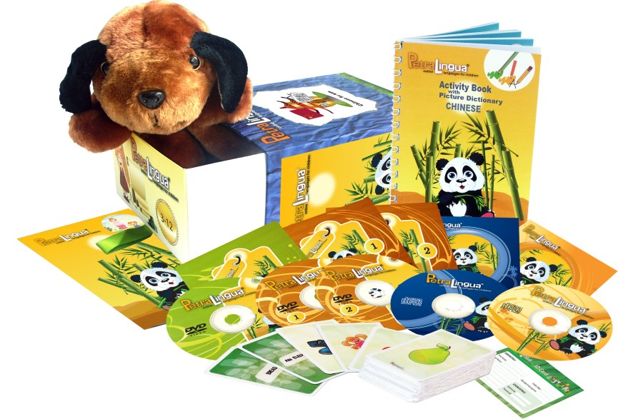 Chinese for Kids - PetraLingua Chinese Course for Children: CDs, DVDs, Books