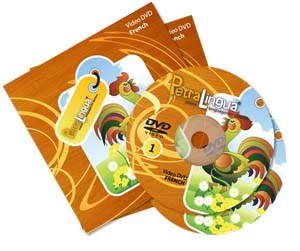 PetraLingua French DVD Course for Kids 2 Video DVDs, 21 Lessons