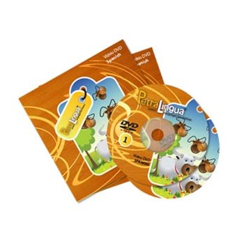 PetraLingua Spanish DVD Course for Kids 2 Video DVDs, 21 Lessons