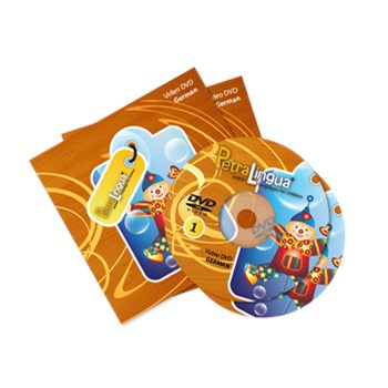 PetraLingua German DVD Course for Kids 2 Video DVDs, 21 Lessons