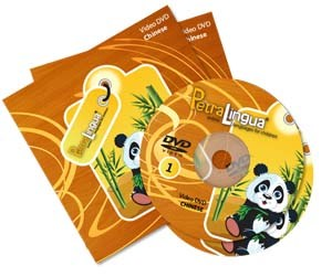 PetraLingua Chinese DVD Course for Kids 2 Video DVDs, 20 Lessons