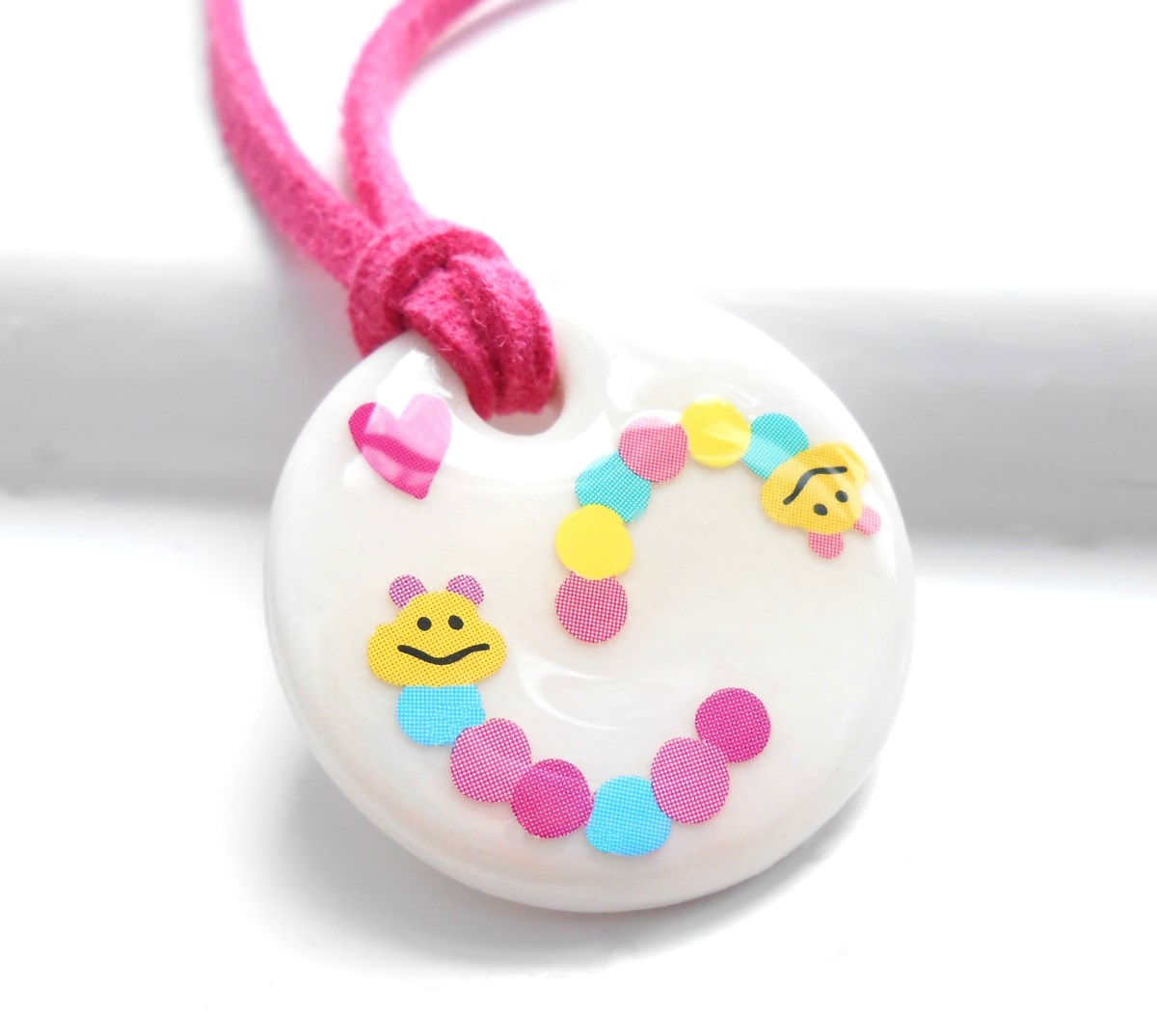 Porcelain Girls Necklace