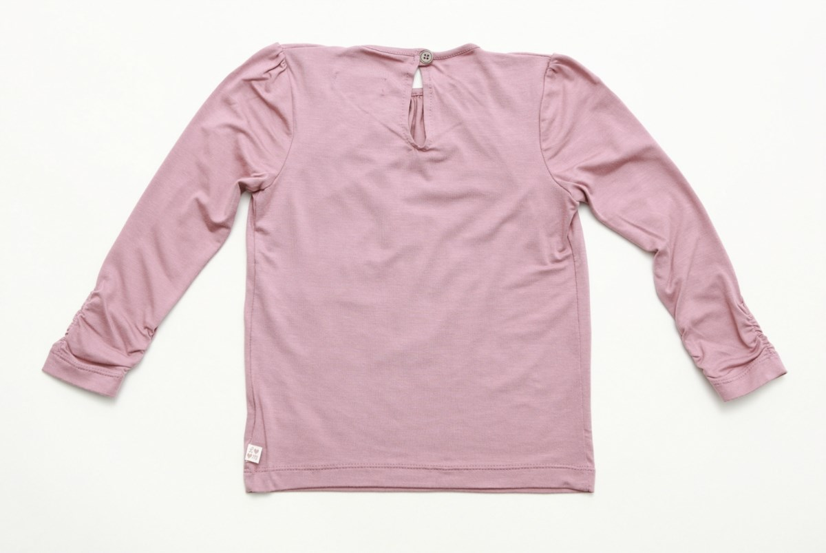 Pink Long Sleeve Jersey Top