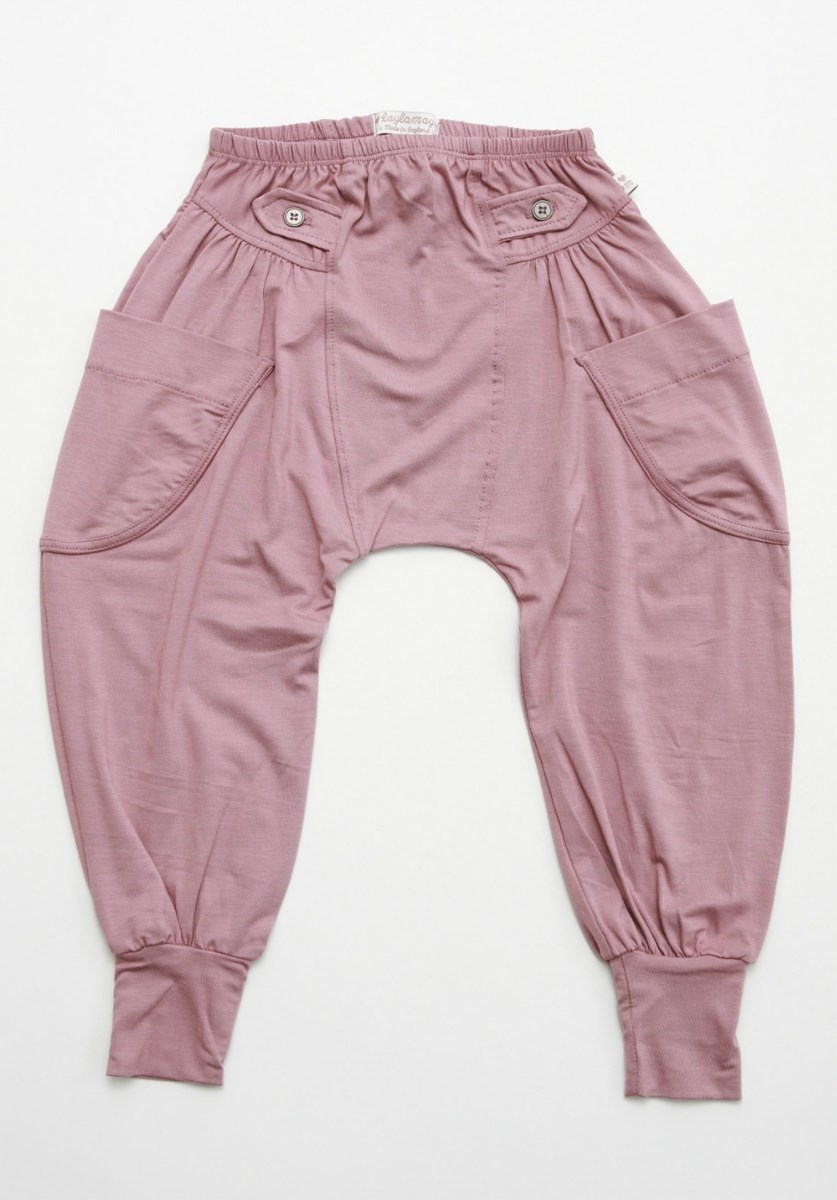 Pink Baggy Trousers