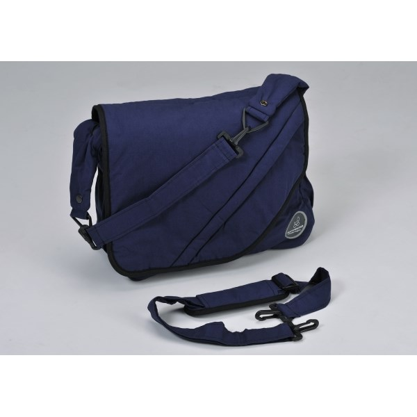 """Naturkind Changing bag, """"blue"""" made from 100% organic cotton"""