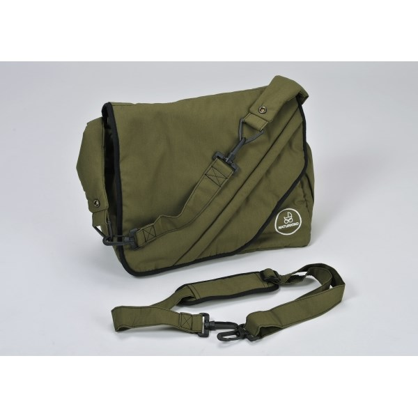"""Naturkind Changing bag, """"olive green"""" made from 100% organic cotton"""