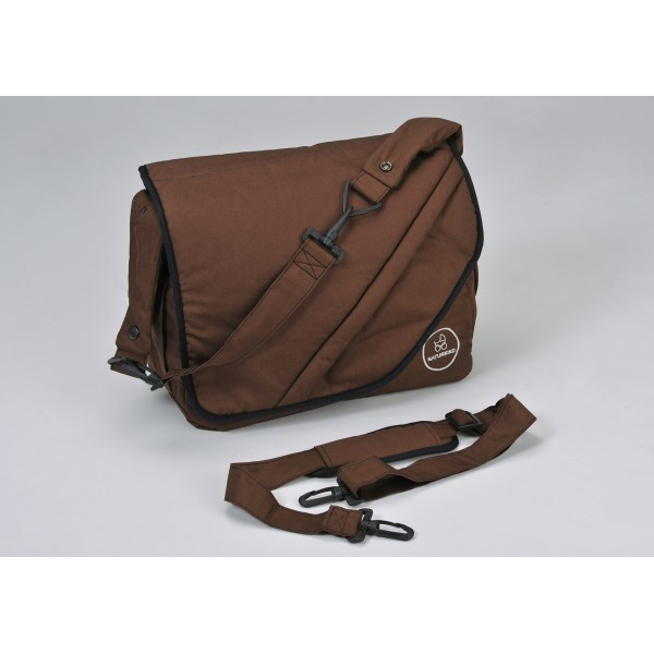 """Naturkind Changing bag, """"brown"""" made from 100% organic cotton"""