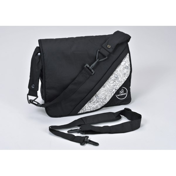 """Naturkind Changing bag, """"Nachtfalter"""" made from 100% organic cotton"""