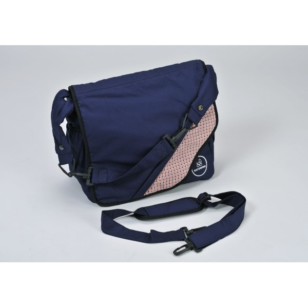 """Naturkind Changing bag, """"Blaumeise"""" made from 100% organic cotton"""