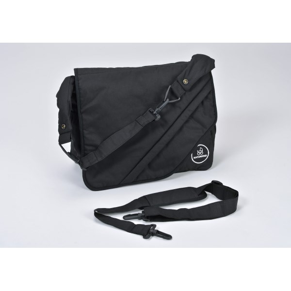 """Naturkind Changing bag, """"black"""" made from 100% organic cotton"""