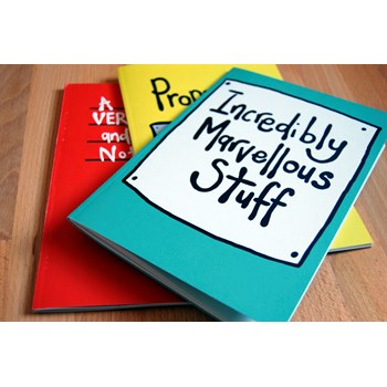 'Incredibly Marvellous' Set of three Notebooks