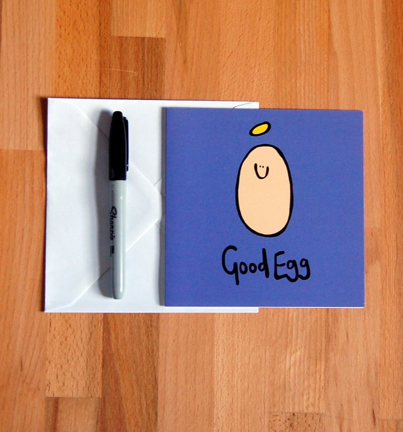 'Good Egg' Thank you Card