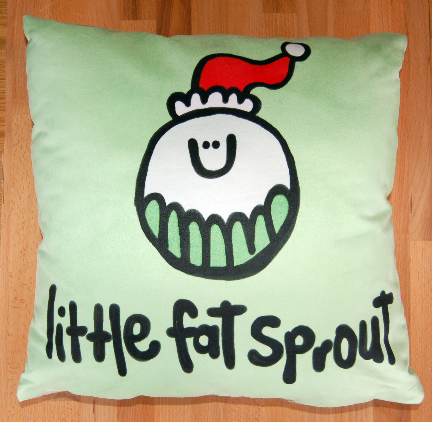 Little Fat Sprout Luxe Cushion