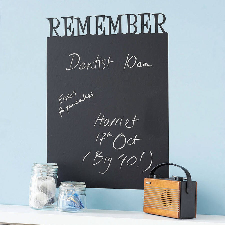 Personalised Chalkboard Sticker