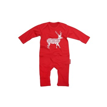 Personalised 'Reindeer' Christmas Romper