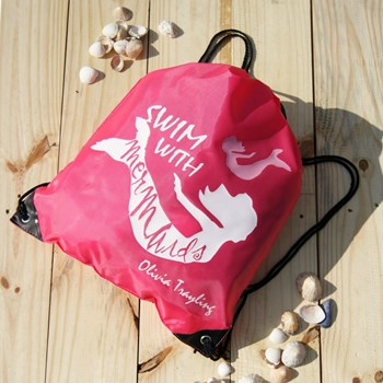 Personalised Mermaid Swimming Bag