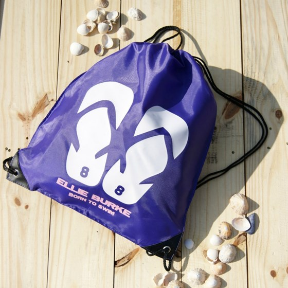 Personalised Flip Flop Swimming Bag