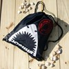 Personalised Shark Swimming Bag