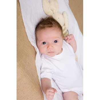 Organic Cotton Onesie -White