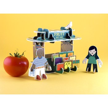 Playpress Greengrocers Playset
