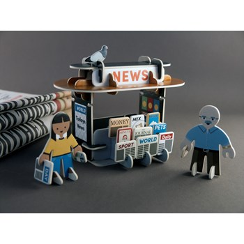 Playpress Newsstand Playset