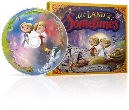 The Land of Sometimes is a magical CD for children