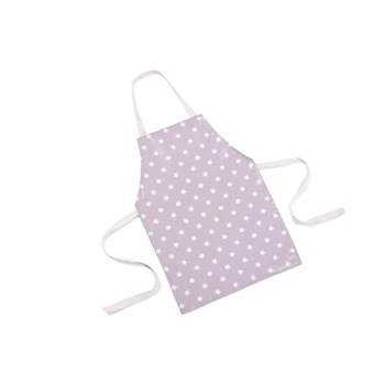 Pretty, Wipe Clean Apron - Dusty Pink Stars