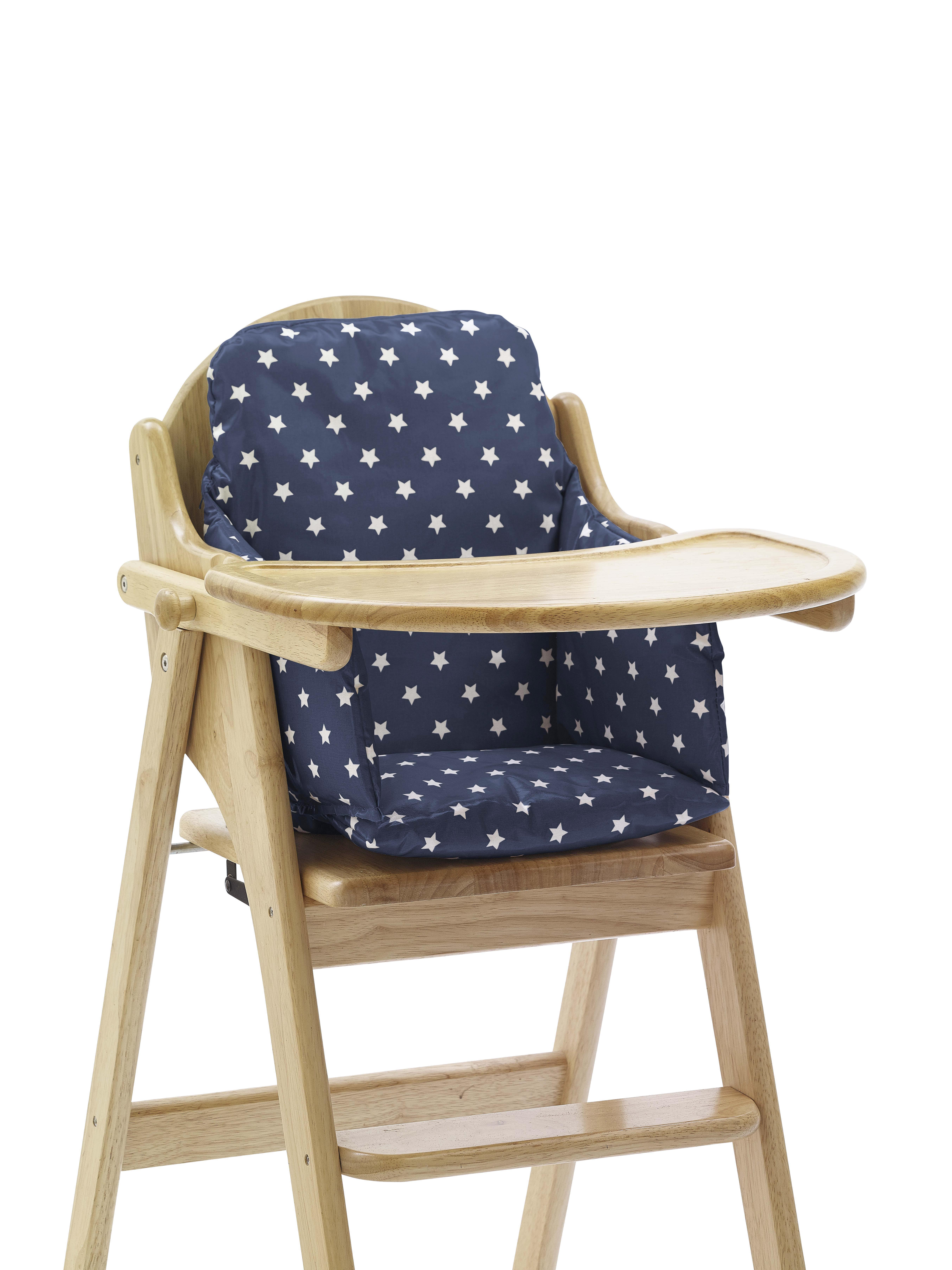 Wipe Clean Cushion Insert For Wooden High Chairs